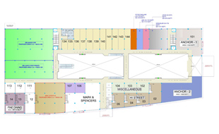RahulRaj Mall First Floor Plan