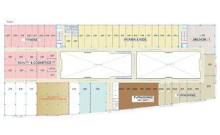 RahulRaj Mall Second Floor Plan