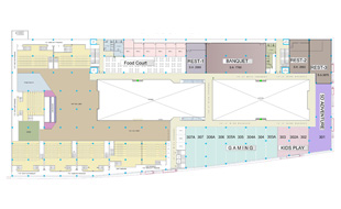 RahulRaj Mall Third Floor Plan